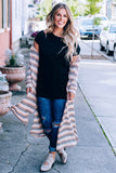 Holding On Long Sleeve Duster