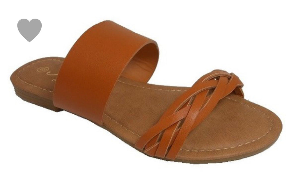 Be Happy Summer Sandals, Tan