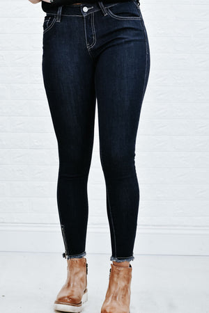 Marisa Dayport Zipper Denim