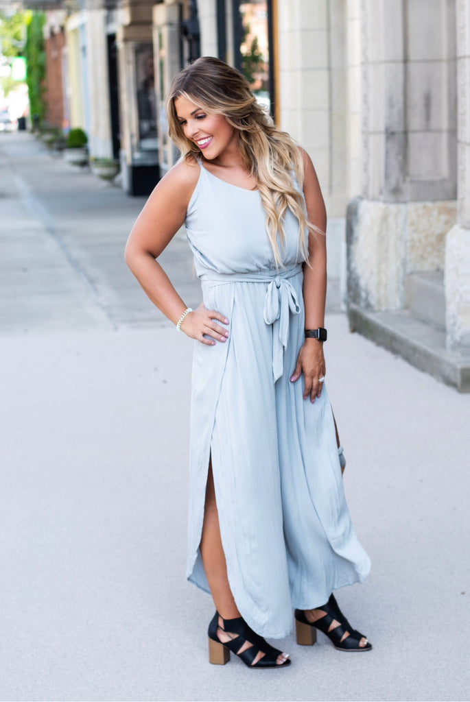 Out and About Jumpsuit, Grey