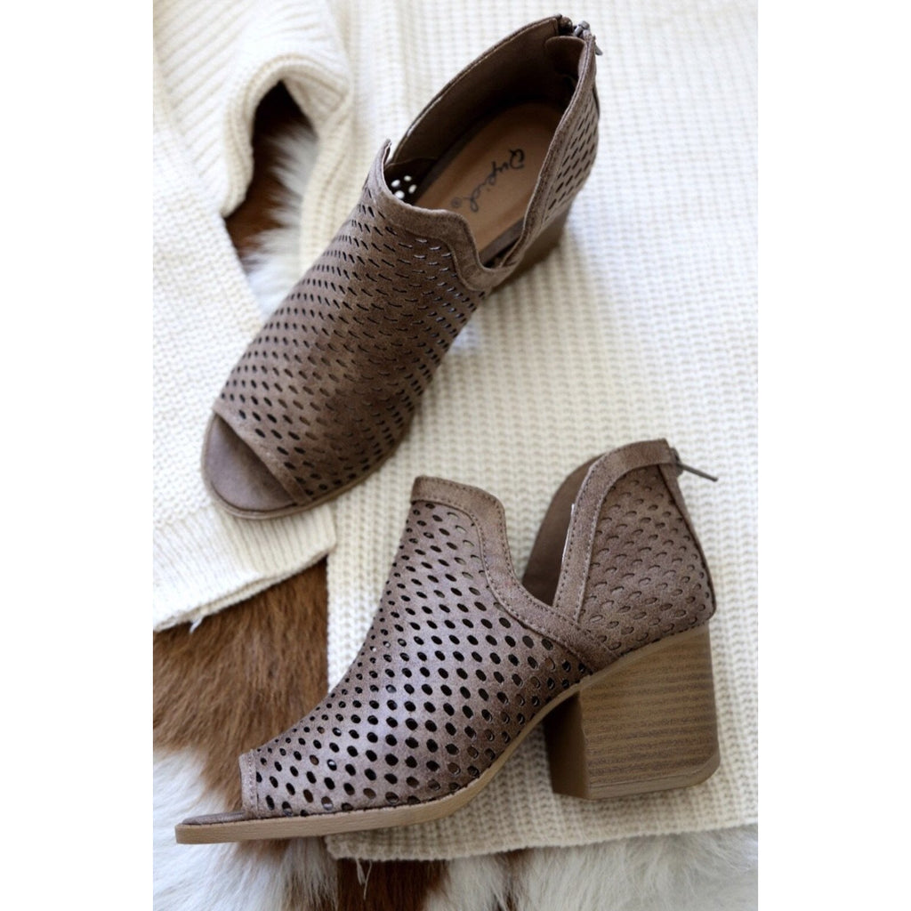 Core Bootie- Taupe