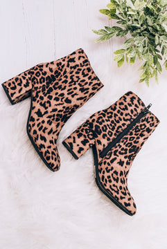 Spotted On The Street Ankle Booties