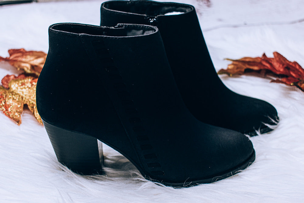 Reformed Bootie, Black
