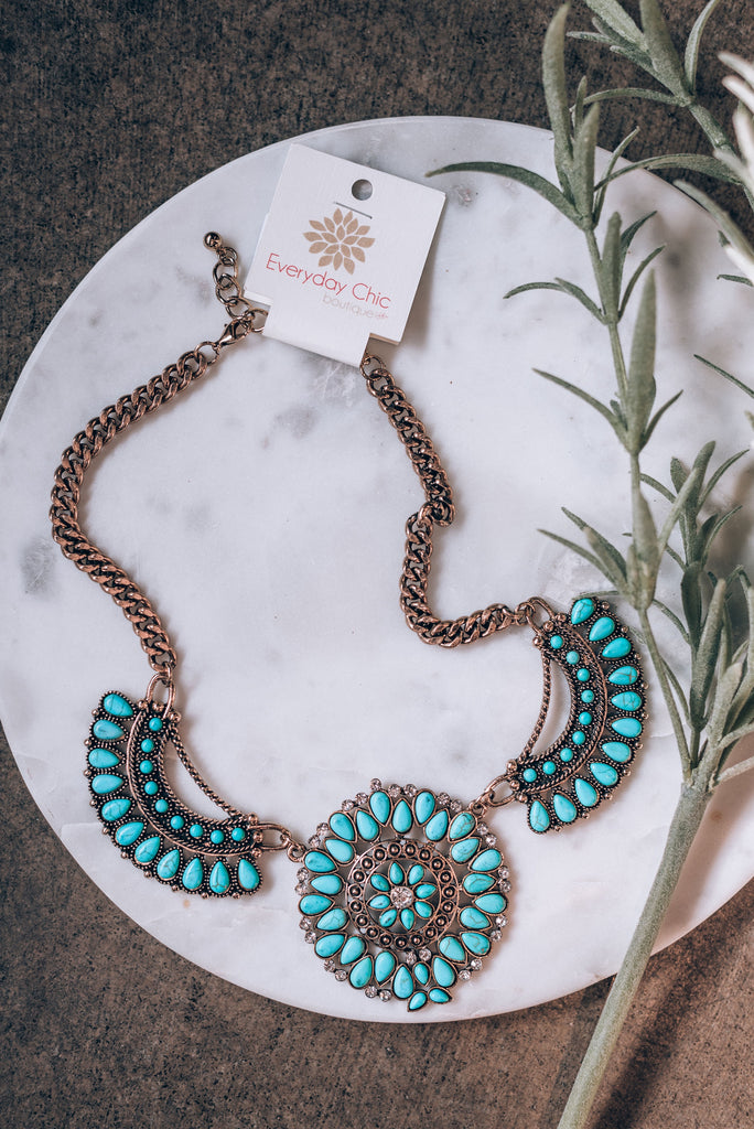 Totally Turquoise Necklace