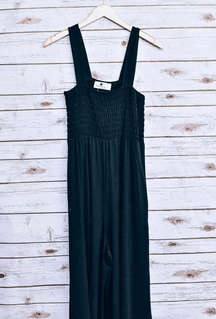 Back From The Mountains Jumpsuit, Black