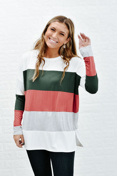 Better Together Colorblock Top