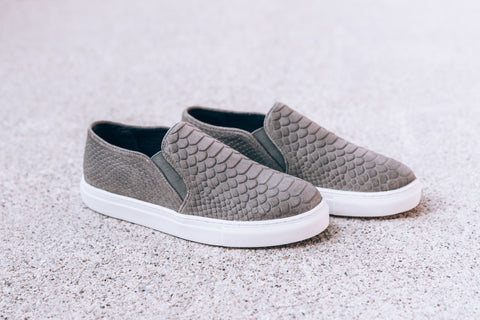 Rebel Platform Sneaker - Natural Snake
