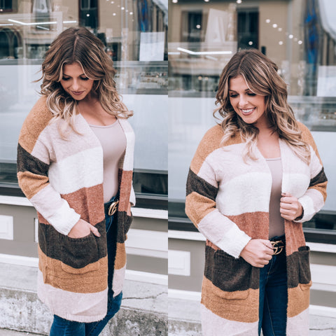 Mauve All Weekend Long Sweater