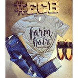 Farm Hair Don't Care Tee