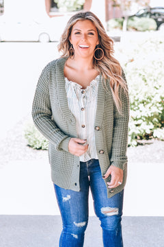 Many Reasons Why BoyFriend Cardi, Light Olive