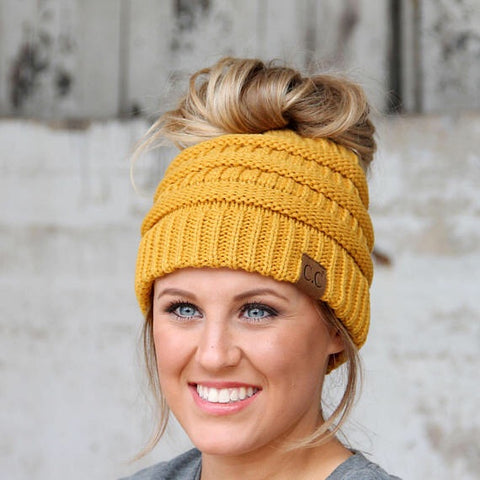 Love Your Melon Pom Pom Beanie- BURGUNDY