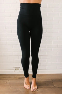 Tummy Control Leggings -PLUS