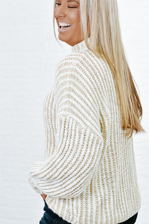 Chasing Dreams Sweater, Beige