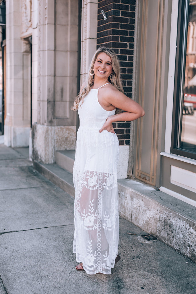 Looking For Love Romper Maxi