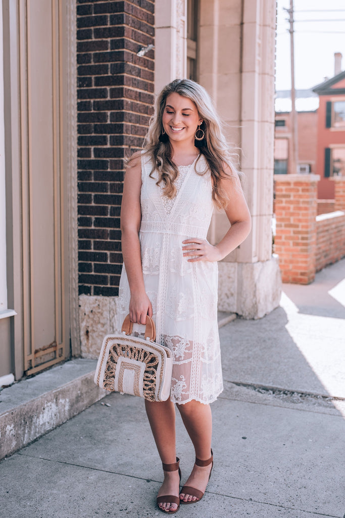 American Honey Lace Dress