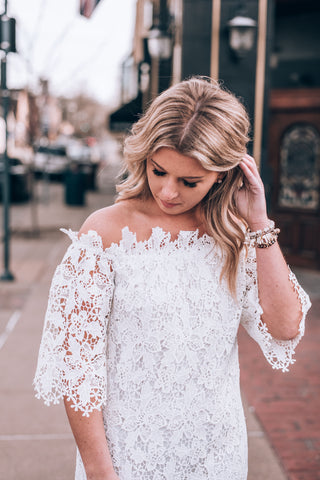 Wild Heart Embroidered Dress