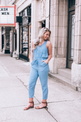 Bailey's Denim Overalls, Dark Wash