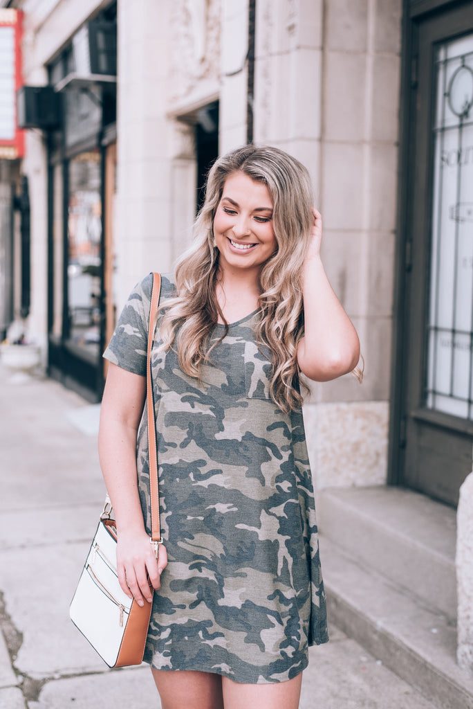 Hide and Seek Camo Dress