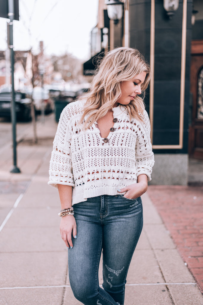 Dreams Tonight Sweater by Free People