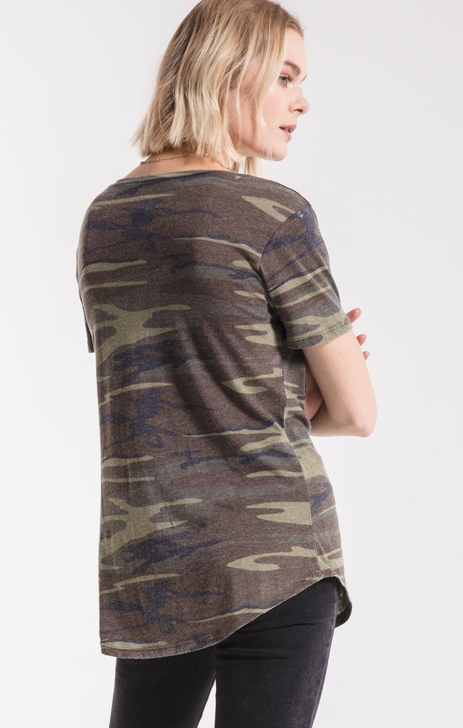 The Pocket Tee, camo