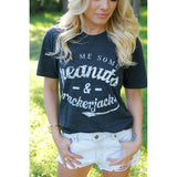 Peanuts And Crackerjacks Tee