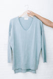 Sophie Super Soft Sweater, Light Blue