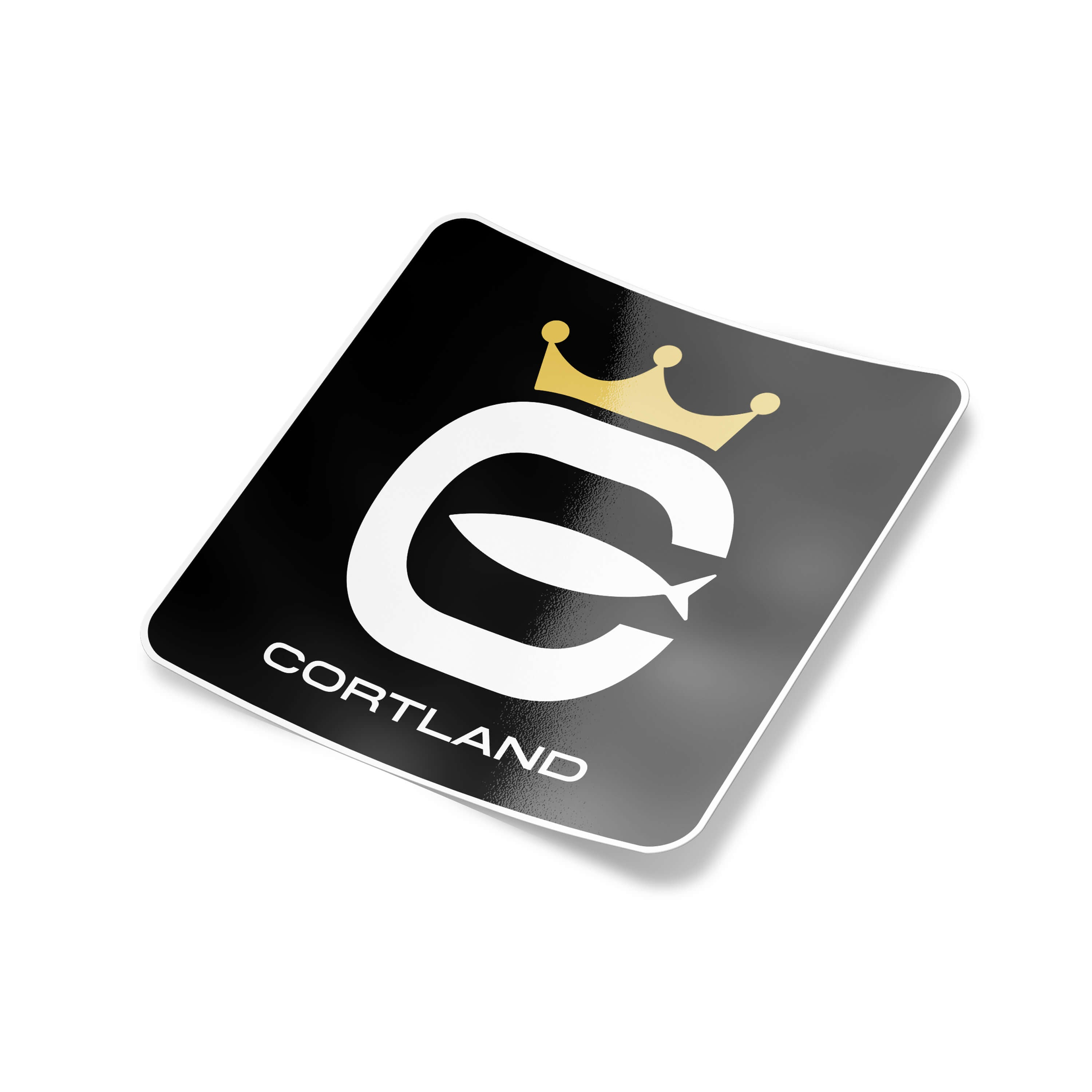 Cortland logo slap sticker big cortland line north america