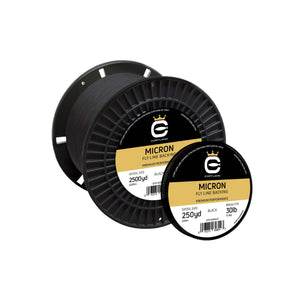 MICRON FLY LINE BACKING - BLACK