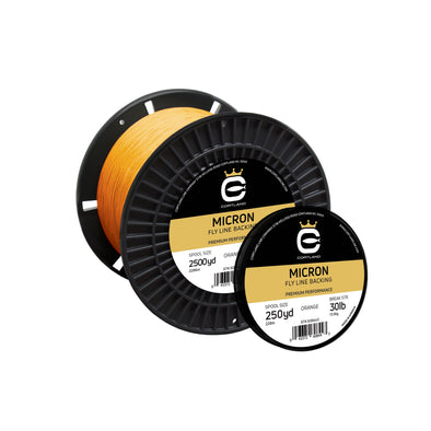 MICRON FLY LINE BACKING - ORANGE