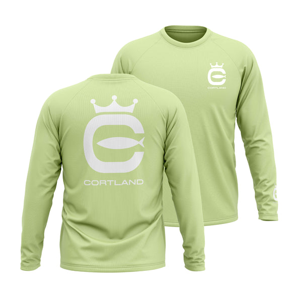 Performance Long Sleeve - Mint / White