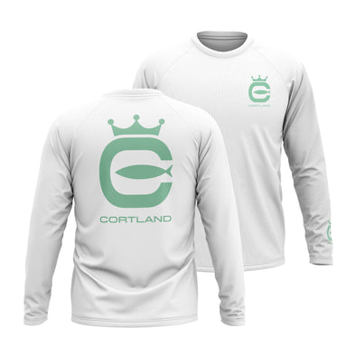 Performance Long Sleeve - Pearl Grey / Seafoam
