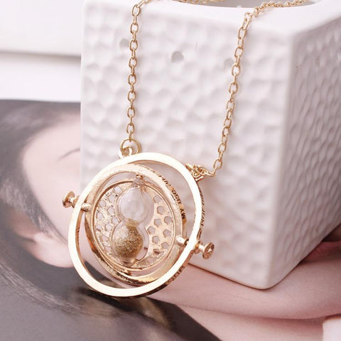 Free Rotating Time Turner Necklace ( limited offer )