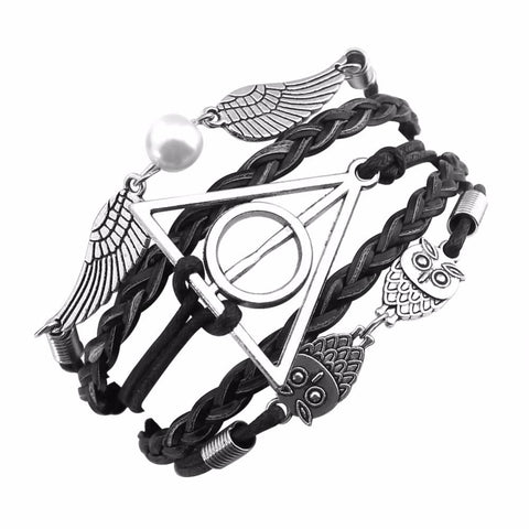 Harry Potter Deathly Hallows Bracelets