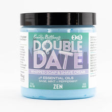 Load image into Gallery viewer, Double Date Whipped Soap & Shave - Zen
