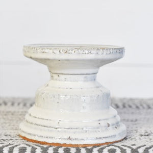 "4.75"" White Candle Riser"