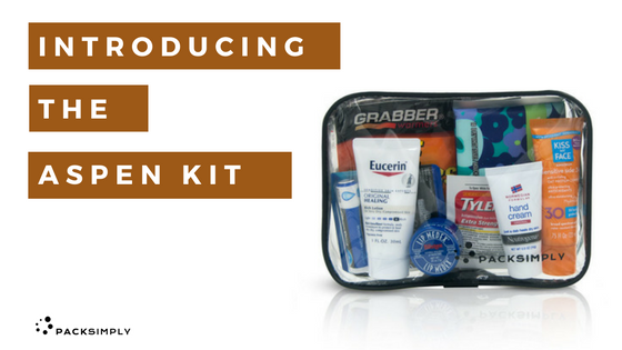 Introducing The Aspen Kit:<br>Cold Weather Toiletry Must-Haves