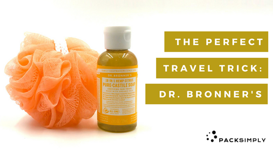 Why Dr. Bronner's Magic Soap is the Perfect Travel Trick