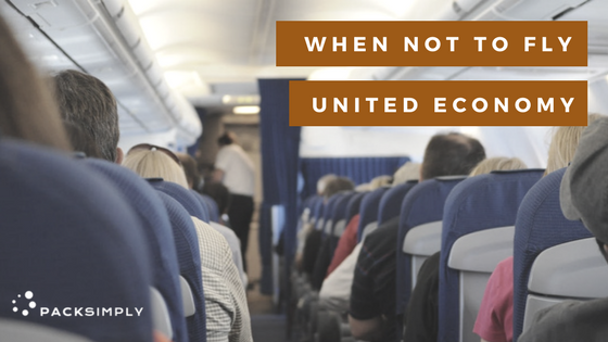 When Not to Fly United Airline's Basic Economy