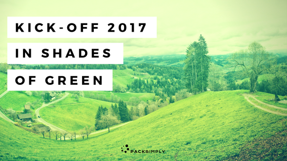 Kick-Off 2017 in Shades of Green