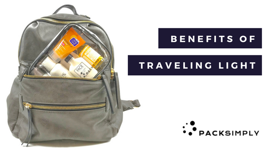 The Benefits of Traveling Light
