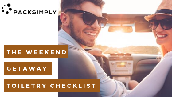 Weekend Getaway Toiletry Checklist