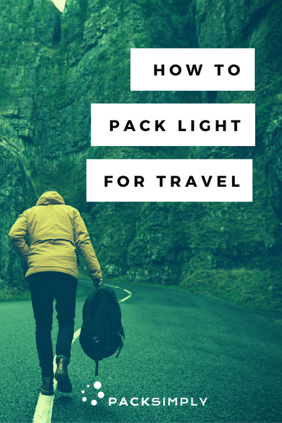 How to pack light for travel | Pack Simply Blog