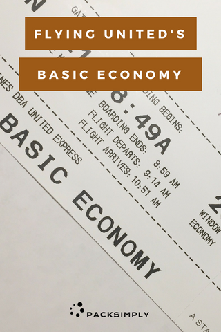 Flying United's Basic Economy: What You Need to Know
