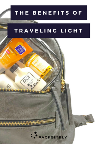 The Benefits of Traveling Light | The Traveler Blog | Pack Simply