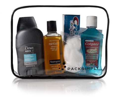Pack Simply Travel Toiletry Kit
