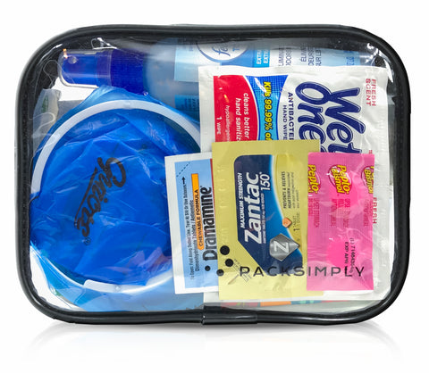 Emergency Travel Toiletry Kit - Pack Simply Travel Size Toiletries
