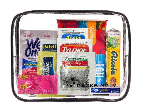 First-Aid Travel Toiletry Kit | The Traveler Blog | Pack Simply