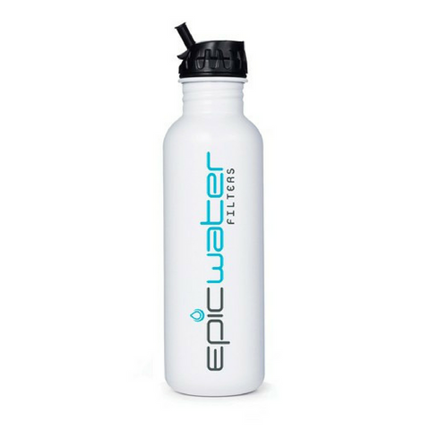 Epic Stainless Steel Portable Water Bottle