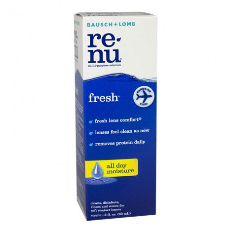 Bausch & Lomb Renu Multi-Purpose Solution (2oz)