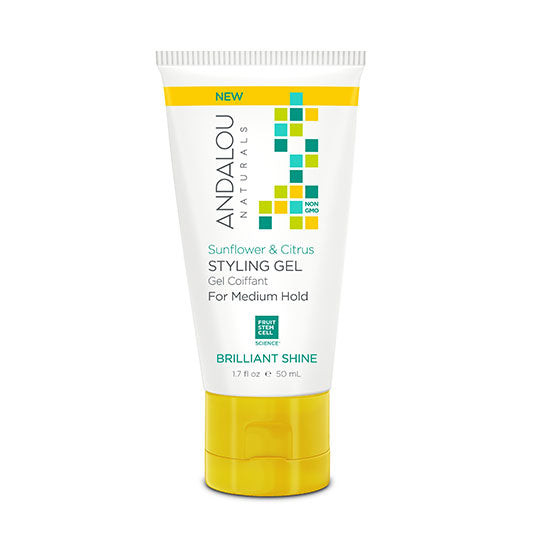 Andalou Naturals Sunflower and Citrus Brilliant Shine Styling Gel (1.7oz)